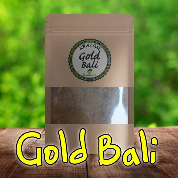 Gold Bali Kratom Premium Powder