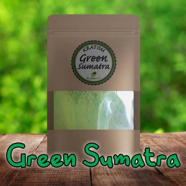 Green Sumatra Kratom Premium Powder