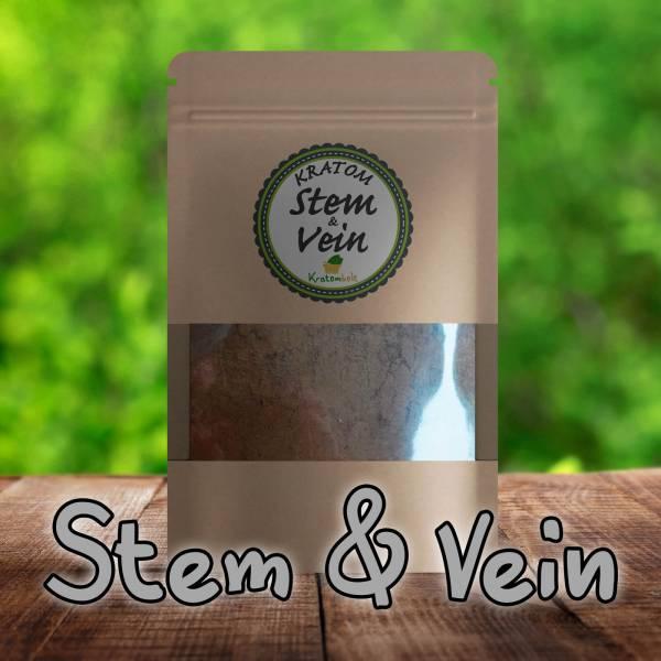 Stem & Vein Kratom Premium Powder