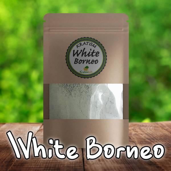 White Borneo Kratom Premium Powder
