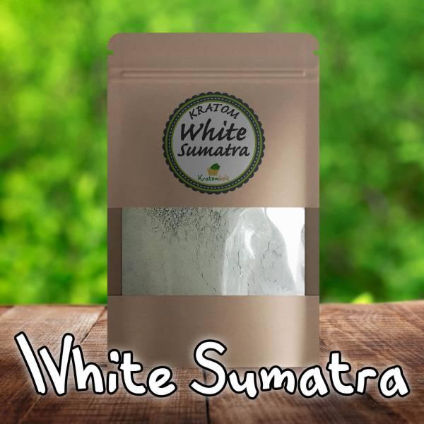 White Sumatra Kratom Premium Powder