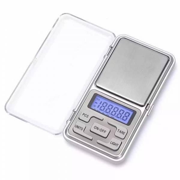 Mini Digitális Zsebmérleg Ezüst 500g
